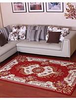 New Arrival European style Anti-skid Premium Jacquard carpet for living room Red/Black/Brown/Cream mat carpet floor mat