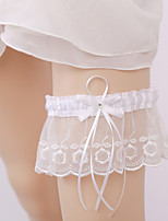 Lace Wedding Garter with Bow(s) Lace Wedding AccessoriesClassic Elegant Style