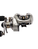 Fishing Reel Baitcast Reels 6.6:1 10 Ball Bearings Left-handed Sea Fishing Bait Casting Freshwater Fishing Trolling & Boat Fishing Carp