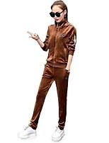 Mulheres Conjunto Camiseta e Calça de Corrida Manga Longa Vestível Moletom Conjuntos de Roupas para Ioga Correr Pilates Fitness Cooper