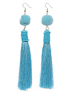 Women's Drop Earrings Hoop Earrings Jewelry Tassel Alloy Jewelry Jewelry For Gift Daily