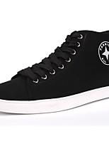 Hombre Zapatos Tejido Primavera Otoño Confort Zapatillas de deporte Con Cordón Para Casual Negro Gris Rojo Azul Real