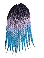 Twist Braids Hair Braid Afro Havana Dreadlock Extensions 100% Kanekalon Hair Black/Burgundy Purple Dark Auburn Medium Auburn Strawberry