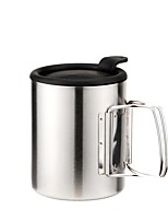 Camping Cup Single Stainless Steel for Picnic Camping & Hiking