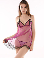 Women's Ultra Sexy Suits Nightwear,Sexy Color Block-Thin