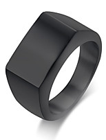 Men's Band Rings Simple Basic Stainless Steel Jewelry Jewelry For Daily Casual