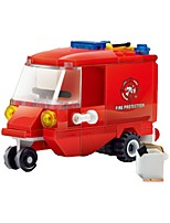 Building Blocks Fire Engine Vehicle Toys Truck Kids 1 Pieces