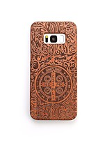 Case For Samsung Galaxy S8 Plus S8 Shockproof Pattern Back Cover Punk Hard Wooden for S8 Plus S8 S7 edge S7 S6 edge plus S6 edge S6 S6