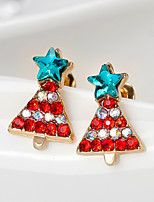 Women's Drop Earrings Fashion Personalized Rhinestone Alloy Geometric Jewelry For Daily Christmas