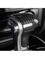 Automobile Remplacement du bouton de changement de véhicule(Fibre de Carbone)Pour Audi 2013 2014 2015 2016 A4L