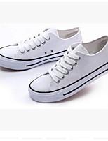 Для мужчин обувь Полотно Весна Осень Светодиодные подошвы Кеды Назначение Повседневные Белый Черный Красный Синий