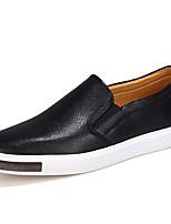 Homme Chaussures Vrai cuir Automne Hiver Confort Moccasin Mocassins et Chaussons+D6148 Pour Décontracté Soirée & Evénement Blanc Noir Bleu
