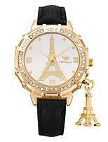 Women's Fashion Watch Wrist watch Casual Watch Quartz PU Band