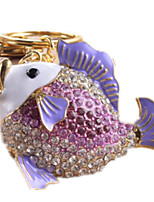 Key Chain Toys Novelty Fish Animal Unisex Pieces