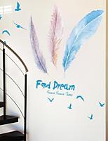 Desenho Animado Adesivos de Parede Autocolantes de Aviões para Parede Protege da Radiação,Acrílico Material Decoração para casa Decalque