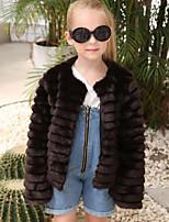 Faux Fur Wedding Party / Evening Kids' Wraps Coats / Jackets