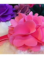Dog Collar Adjustable Flower/Floral Fabric