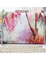 Women Bags Polyester Shoulder Bag Buttons for Casual All Seasons Black Red Light Green