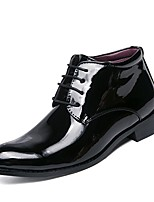 Men's Shoes Real Leather PU Leather Spring Fall Driving Shoes Formal Shoes Comfort Light Soles Oxfords For Casual Office & Career