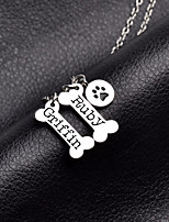 Dog Necklace Dog Clothes Cosplay Casual/Daily Geometric Random Color Costume For Pets