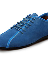 Men's Shoes Nubuck leather Spring Fall Light Soles Loafers & Slip-Ons For Casual Black Dark Blue Light Blue