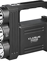 KLARUS RS80 LED Taschenlampen LED 3450 Lumen Manuell Modus Cree XM-L U2 Cree XM-T6 L2 ja Wasserfest Leichtes Gewicht Einfach zu tragen