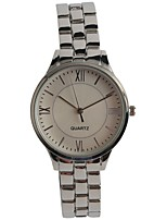 Women's Fashion Watch Japanese Quartz Alloy Band Silver