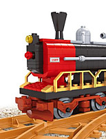 Building Blocks Train Toys Train Vehicles DIY Kids Boys 406 Pieces
