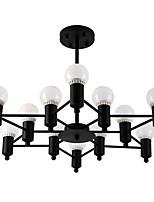 Contemporain Lustre Pour Salle de séjour Intérieur Salle à manger 110V-220V 220V-240VV Ampoule incluse