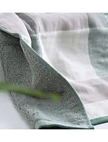 Style frais Serviette de bain,Carreaux Qualité supérieure 100% Coton Serviette