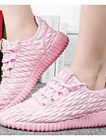 Women's Shoes Fabric Spring Fall Comfort Sneakers For Casual Blushing Pink Gray Black White