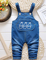Boys' Solid Overall & Jumpsuit-Cotton Fall