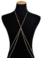 Women's Body Jewelry Body Chain Sexy Cross Alloy Cross Jewelry For Party Going out