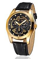 Муж. Модные часы Механические часы С автоподзаводом Кожа Группа