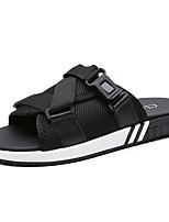 Herren Schuhe Atmungsaktive Mesh Sommer Komfort Sandalen Für Normal Schwarz