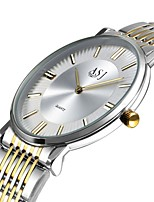 cheap -Men's Fashion Watch Dress Watch Wrist watch Japanese Quartz Large Dial Stainless Steel Band Casual Elegant Minimalist Silver