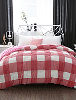 Checkered / Gingham Quilts Material 1pc Quilt
