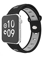 cheap -Watch Band for Apple Watch Series 3 2 1 Silicone Sport Band Wrist Band Strap