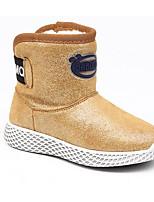 Fille Chaussures Cuir Nubuck Automne Hiver Bottes de neige Bottes Pour Décontracté Or Noir Vert Véronèse