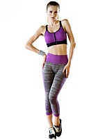 Women's Sport Bra with Running Pants Quick Dry Breathability Stretchy Clothing Suits for Running/Jogging Yoga Casual Exercise & Fitness