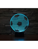 1set Décorative Couleurs changeantes Lumière décorative LED Night Light Lumières USB-3W-Batterie USB