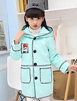 Girls' Geometric Jacket & Coat Fall Winter