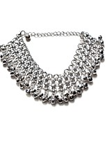 Women's Anklet/Bracelet Crystal Alloy Natural Classic Circle Geometric Jewelry For Party Club