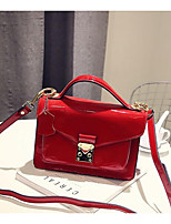 Women Bags All Seasons PU Shoulder Bag Zipper for Casual Red Black Blue