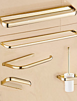 Bathroom Accessory Set Towel Bar Towel Ring Toilet Paper Holder Soap Dishes Toilet Brush Holder Wall Mounted