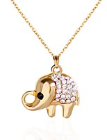 Women's Choker Necklaces Pendant Necklaces Chain Necklaces Rhinestone Animal Shape Rhinestone Alloy Animal Design Jewelry For Party