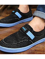 Men's Shoes Canvas Spring Fall Light Soles Sneakers For Casual Brown Black