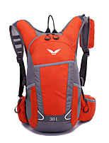 30 L Cycling Backpack Cycling Hiking Camping Breathability Nylon