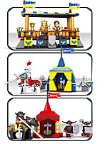 Building Blocks Toys Castle Tower Cartoon Architecture Castle Cartoon Design Kids Boys 1467 Pieces