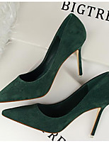 Women's Shoes Patent Leather Spring Fall Basic Pump Comfort Heels For Casual Green Red Gray Orange Black